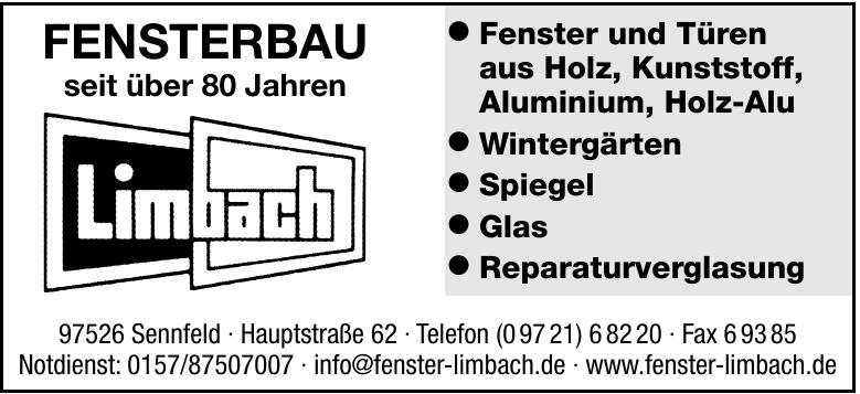 Fensterbau Limbach