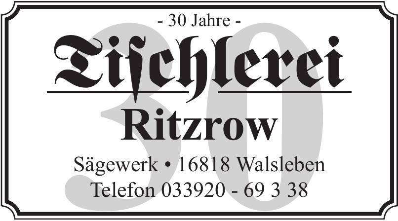 Tischlerei Ritzrow