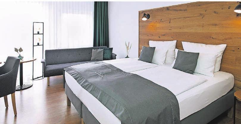 Die Zimmer sind stilvoll und komfortabel eingerichtet. Fotos: Hotel Nickisch
