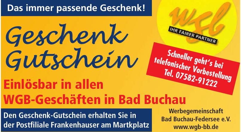 Werbegemeinschaft Bad Buchau-Federsee e.V.