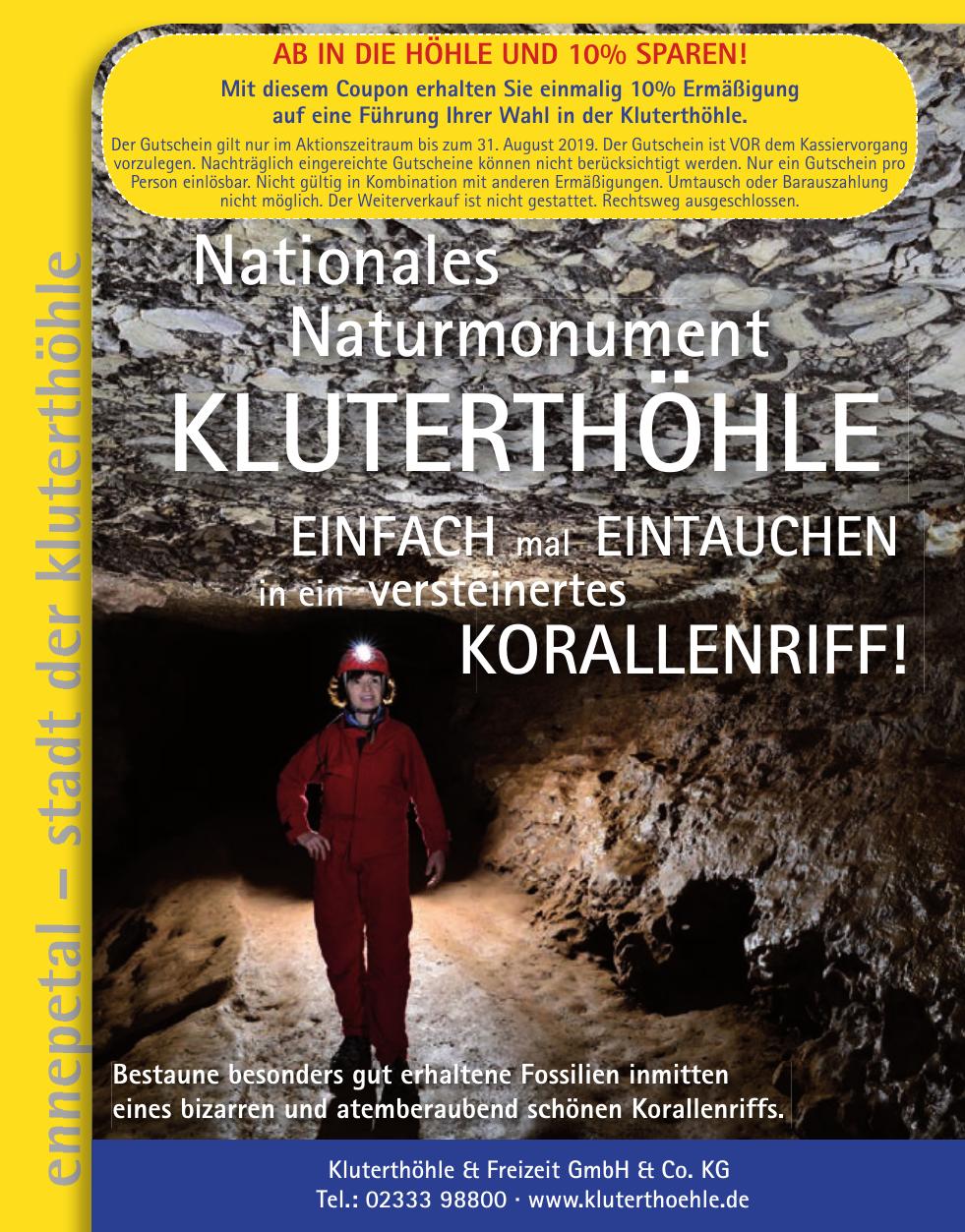 Kluterthöhle & Freizeit GmbH & Co. KG