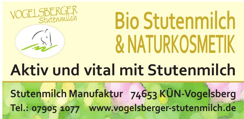 Vogelsberger Stutenmilch