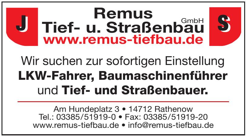 Remus Tief- u. Straßenbau GmbH
