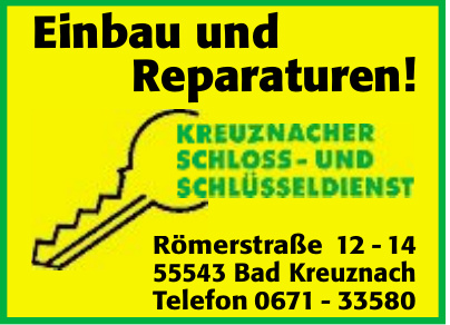 Kreuznacher Schloss- und Schlüsseldienst