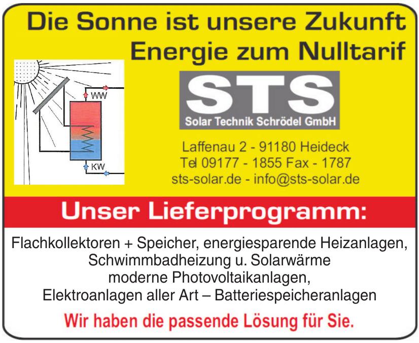 STS Solar Technik Schrödel GmbH
