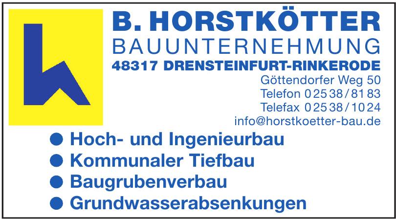 B. Horstkötter Bauunternehmung
