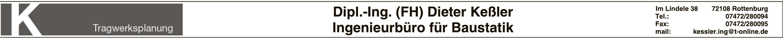 Dipl. Ing. (FH) Dieter Keßler