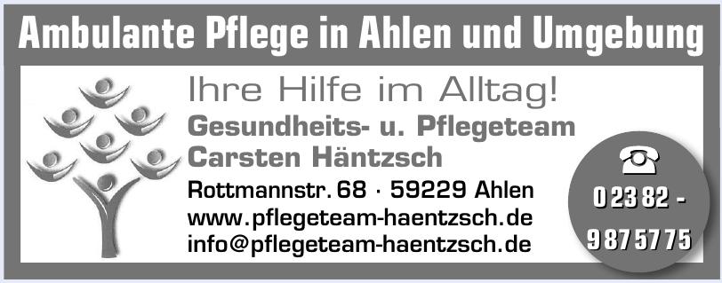 Gesundheits- u. Pflegeteam Carsten Häntzsch