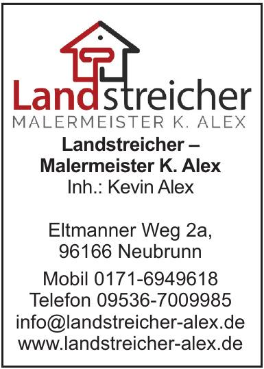 Landstreicher – Malermeister K. Alex