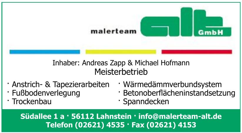 Malerteam Alt GmbH