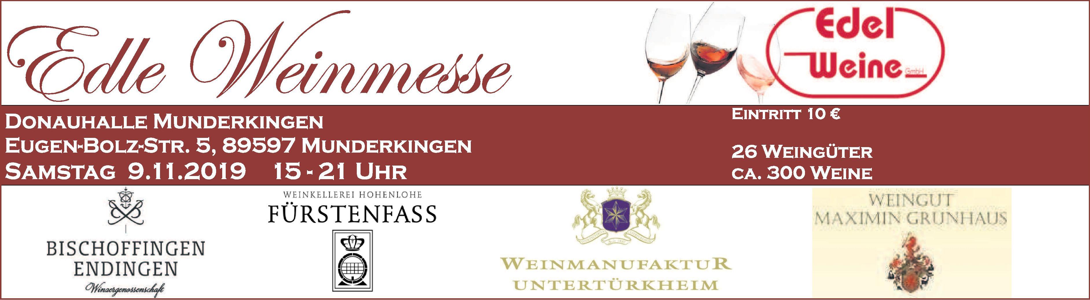 Edle Weinmesse