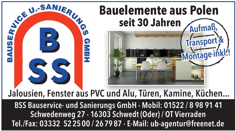BSS Bauservice- und Sanierungs GmbH