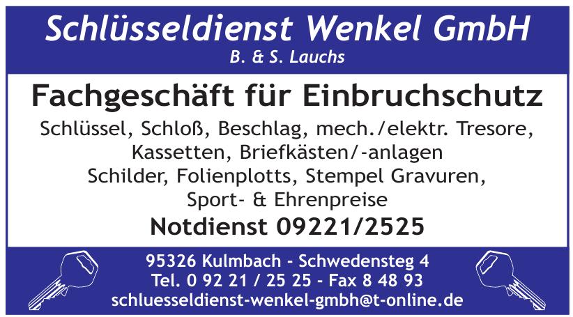 Schlüsseldienst Wenkel GmbH