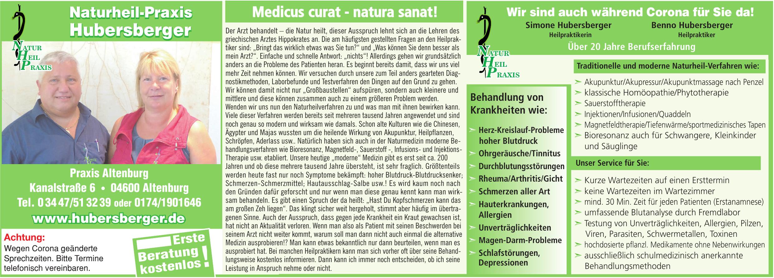 Naturheil-Praxis Hubersberger