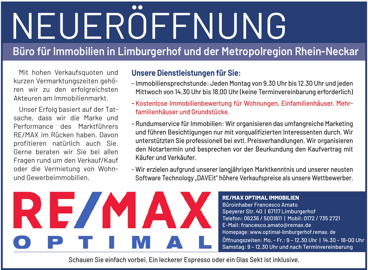 RE/MAX Optimal Immobilien