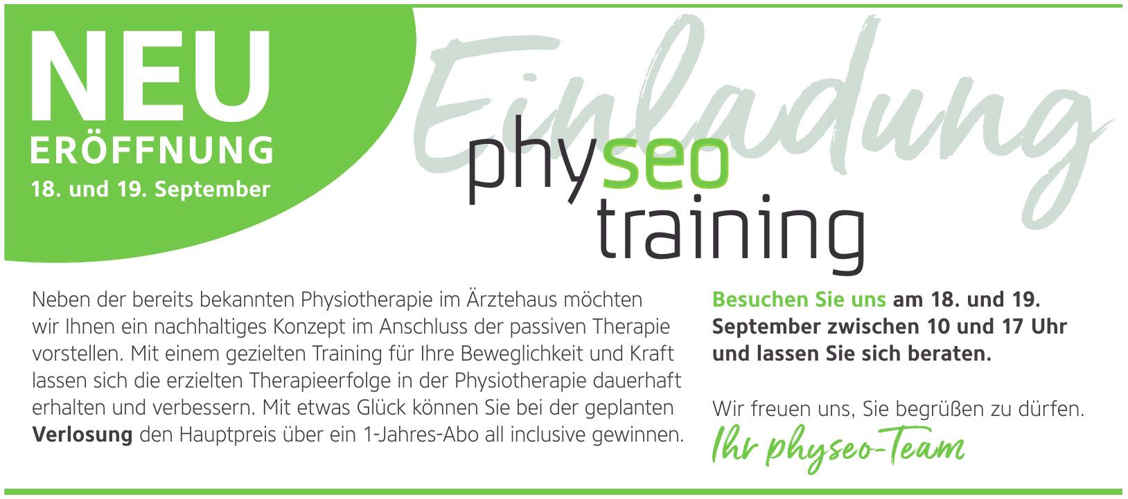 physeo training