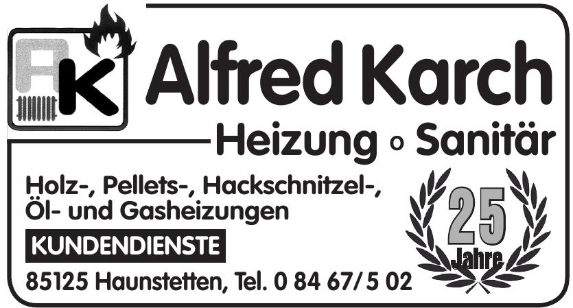 Alfred Karch Heizung-Sanitär