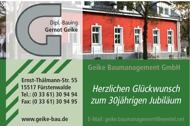 Geike Baumanagement GmbH