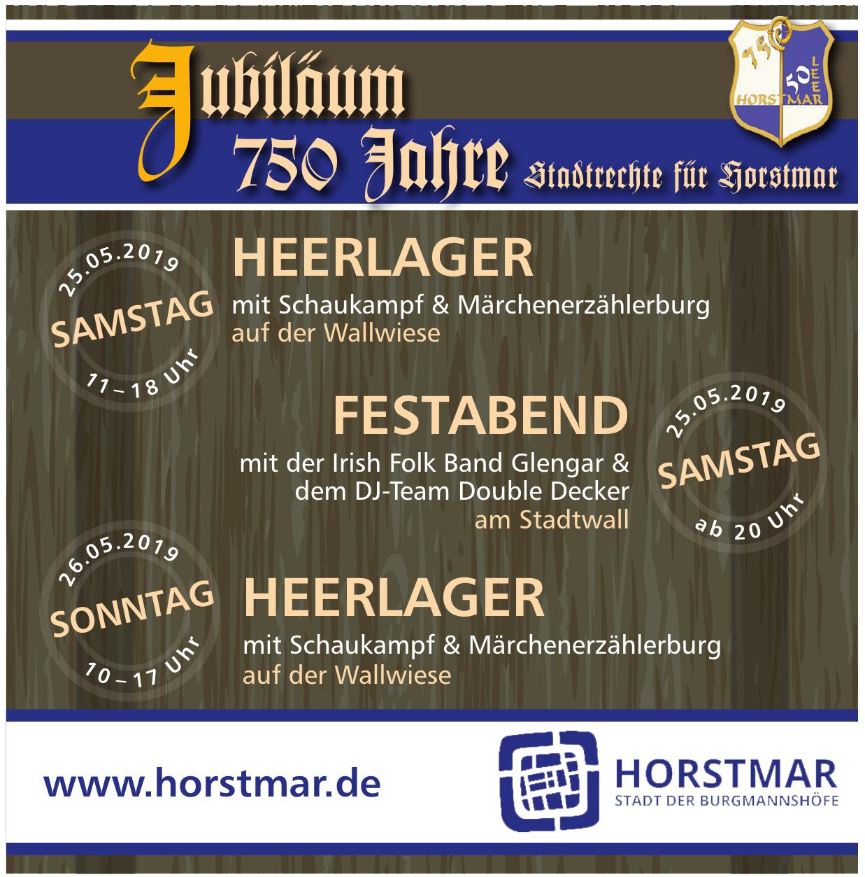 Horstmar Stadt der Burgmannshöfe