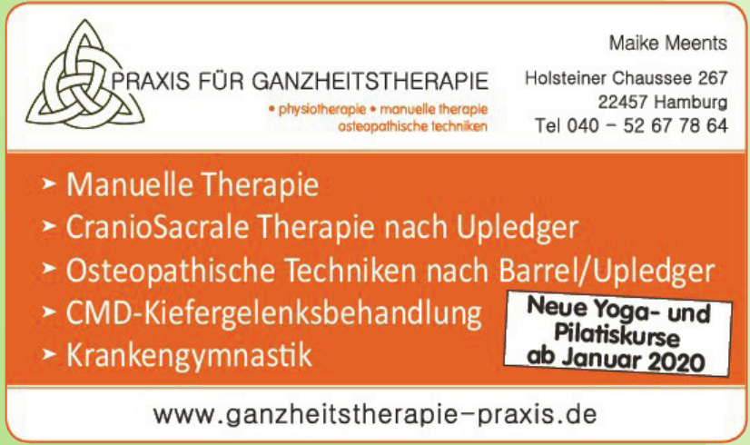 Praxis für Ganzheitstherapie - Maike Meents