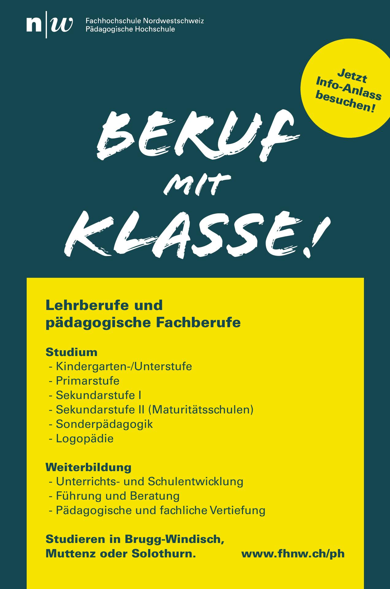 Fachhochschule Nordwestschweiz Pädagogische Hochschule
