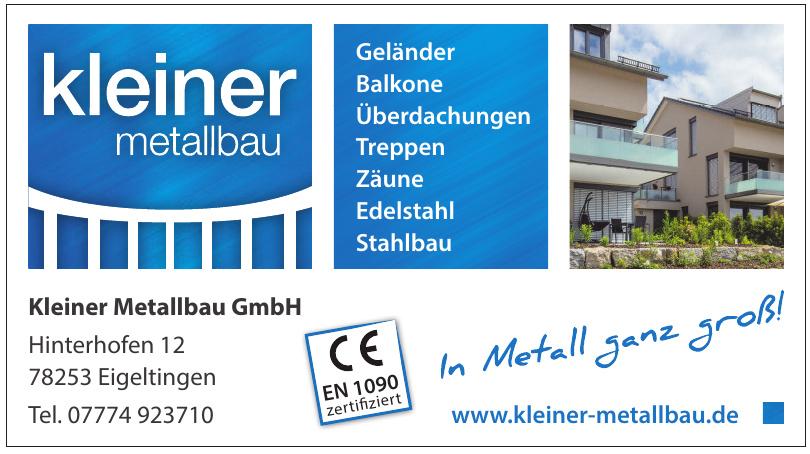 Kleiner Metallbau GmbH