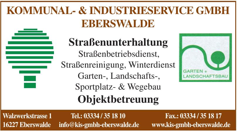 Kommunal- & Industrieservice GmbH Eberswalde