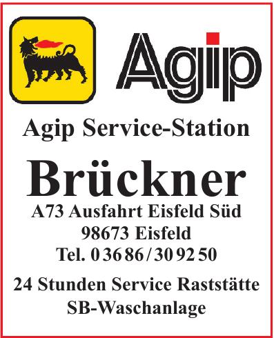 Agip Service-Station Brückner