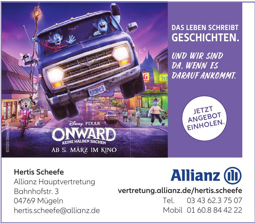 Hertis Scheefe