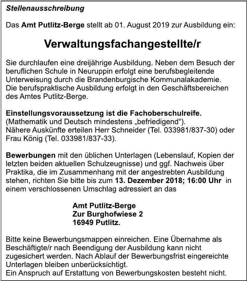 Amt Putlitz-Berge