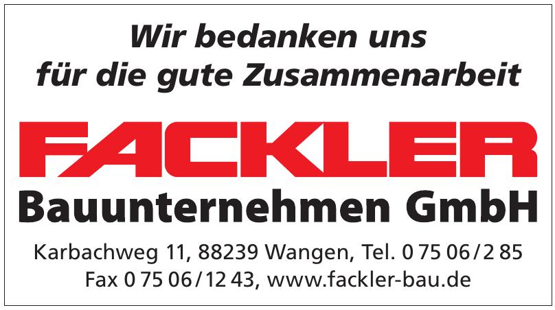Fackler Bauunternehmen GmbH