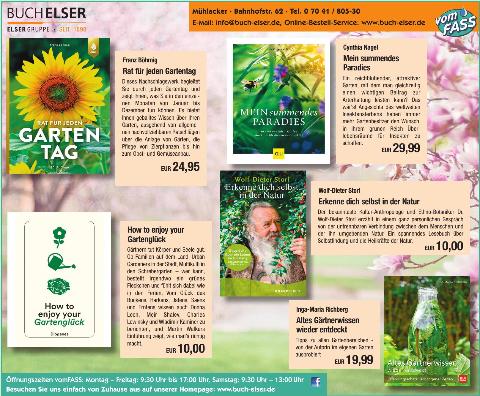 Buch Elser Inh.Hans-Ulrich Wetzel e.K.