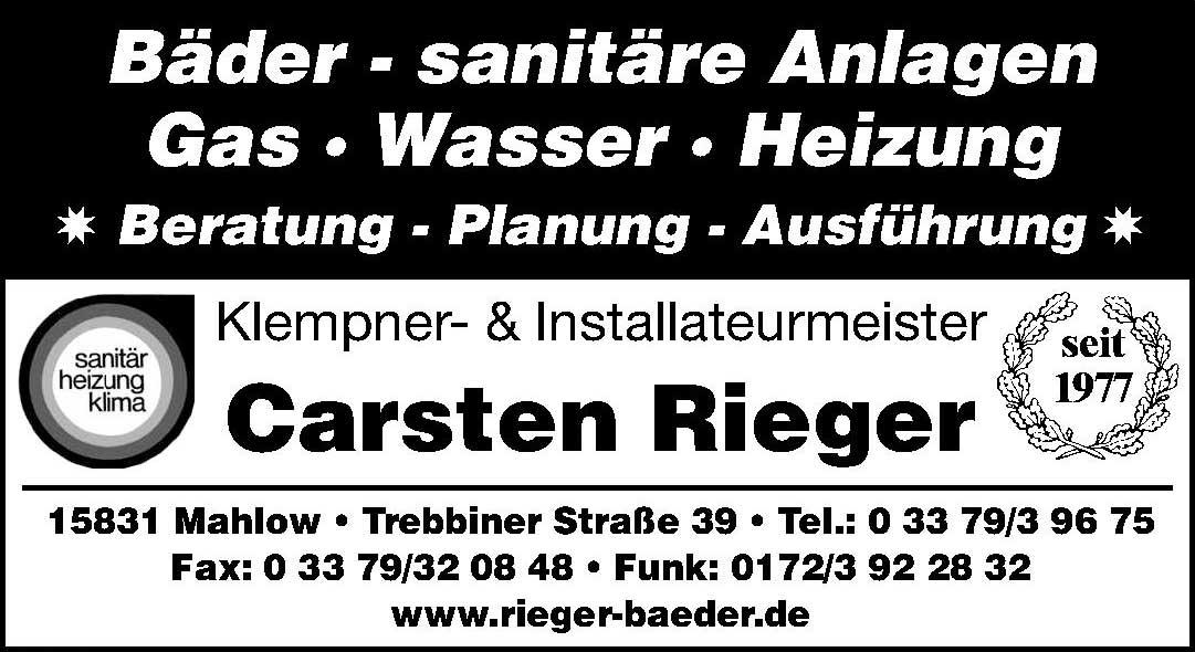 Carsten Rieger