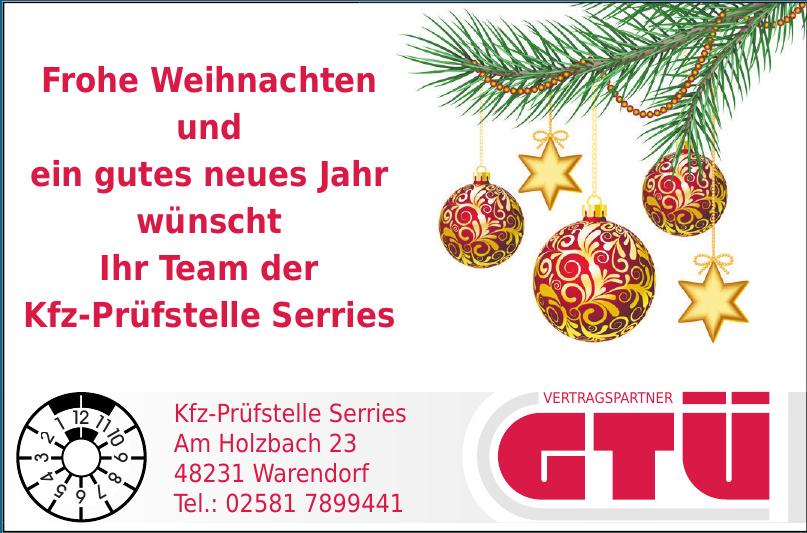 GTÜ Kfz-Prüfstelle Serries