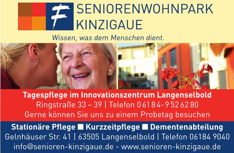 Tagespflege im Innovationszentrum Langenselbold