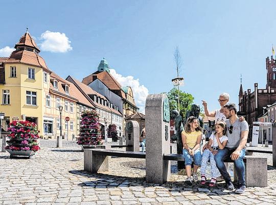 Vom Marktplatz aus kann die Entdeckungstour durch die Kyritzer Altstadt beginnen. FOTO: MARKUS TIEMANN