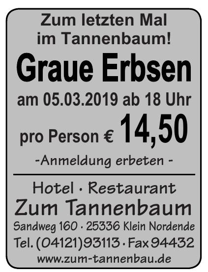 Hotel - Restaurant Zum Tannenbaum