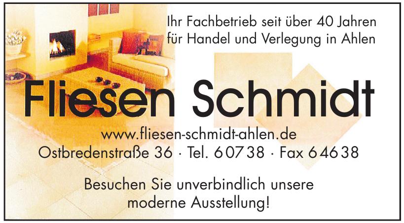 Fliesen Schmidt
