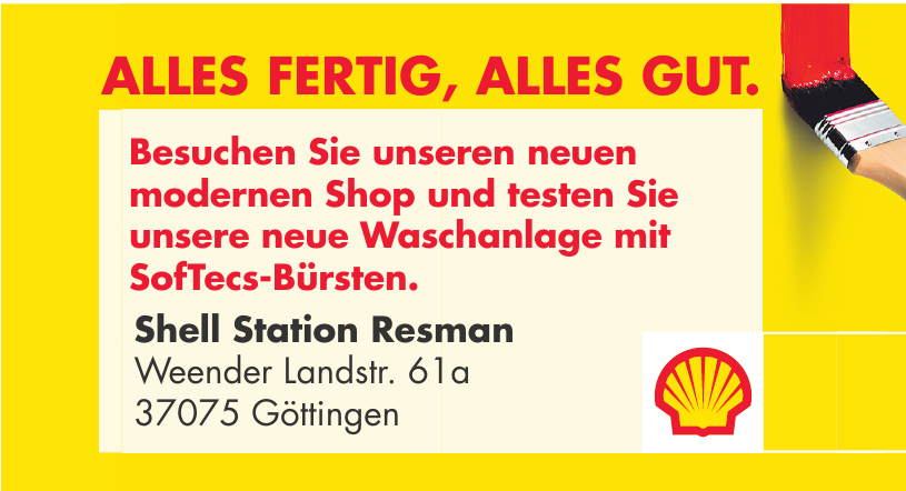 Shell Station Resman