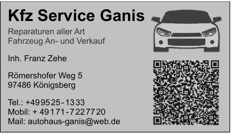 Kfz Service Ganis