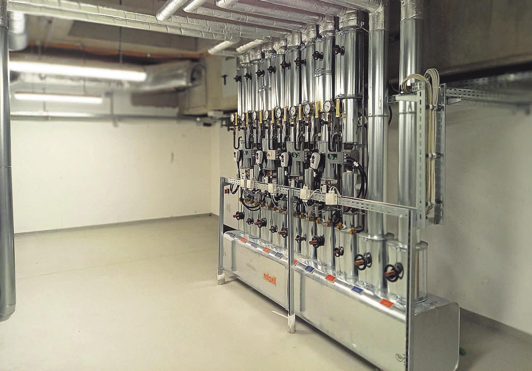 Das Unternehmen installiert moderne Heizsysteme in Schulen, ebenso aber in Privathaushalten.