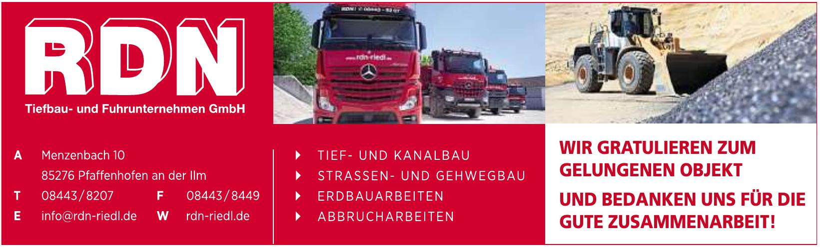 RDN Tiefbau- und Fuhrunternehmen GmbH