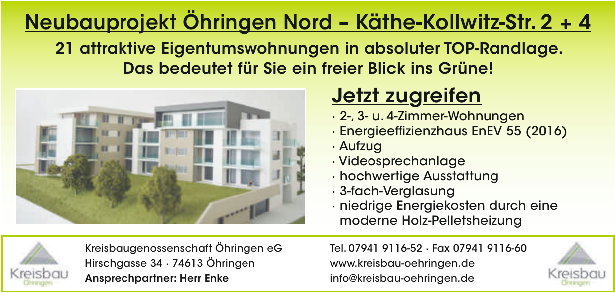 Kreisbaugenossenschaft Öhringen eG