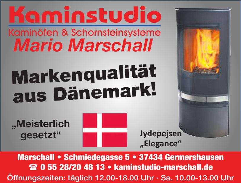 Kaminstudio Kaminöfen & Schornsteinsysteme Mario Marschall