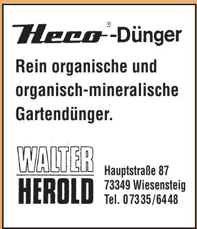 Heco-Dünger Walter Herold
