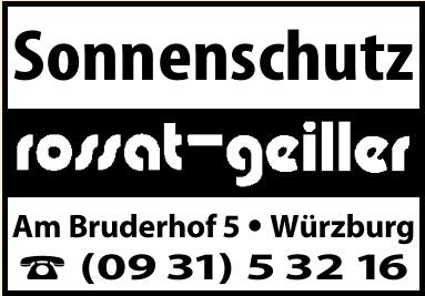 Rossat - Geiller - Sonnenschutz