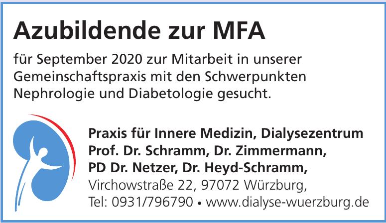 für Innere Medizin, Dialysezentrum Prof. Dr. Schramm, Dr. Zimmermann, PD Dr. Netzer, Dr. Heyd-Schramm