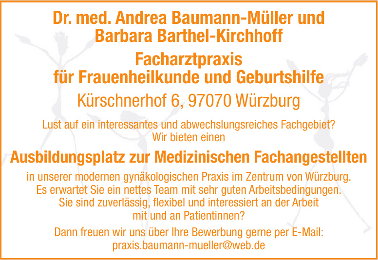 Dr. med. Andrea Baumann-Müller und Barbara Barthel-Kirchhoff