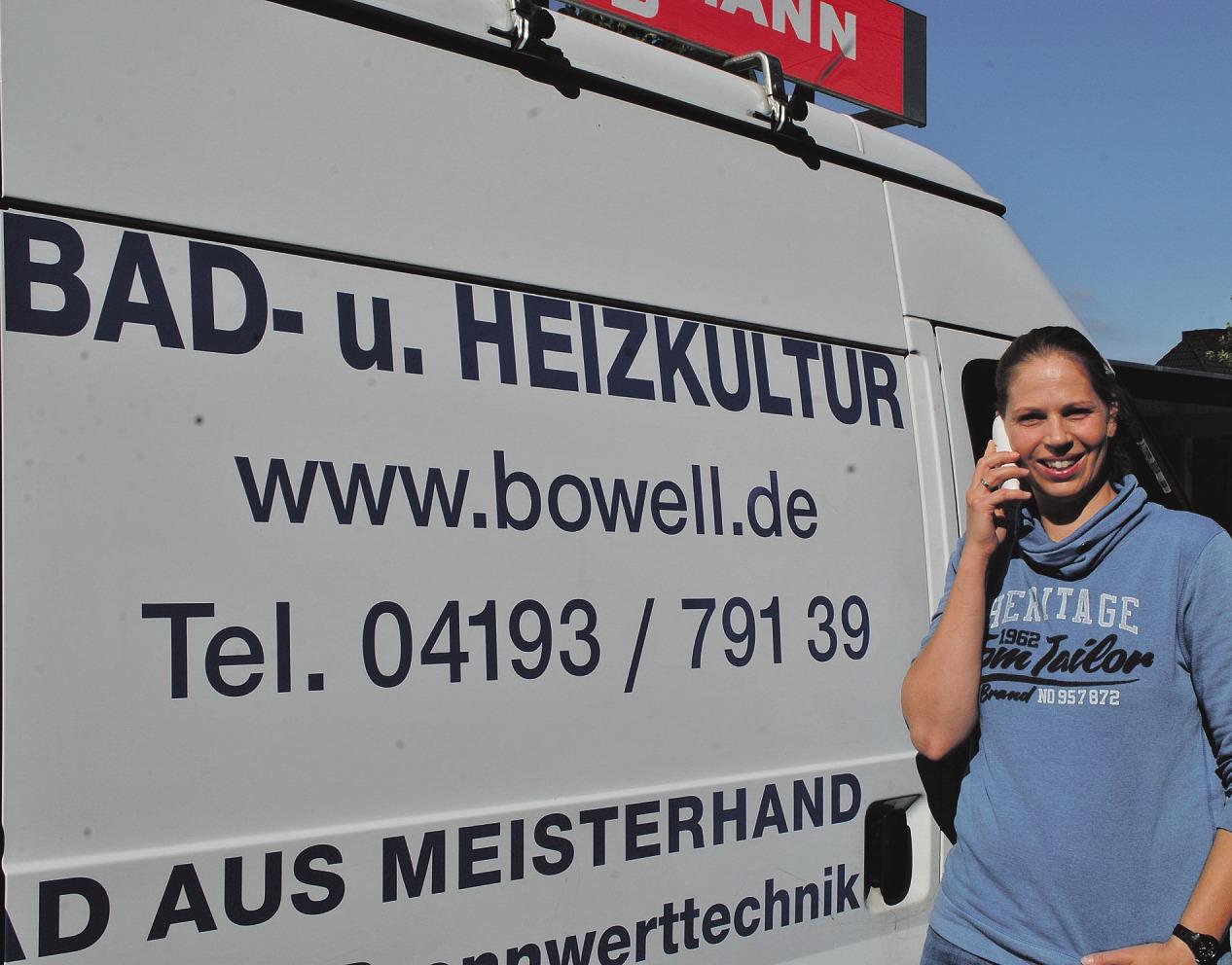 Tochter Vivien Möller-Bowell arbeitet weiterhin im Team mit. Foto: Jordan