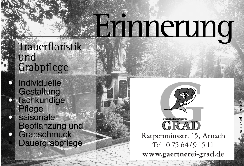 Gärtnerei – Floristik Grad